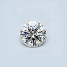 Pierre recommandée n°2: Diamant taille ronde 0,24 carat