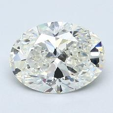 Recommended Stone #2: 1.70-Carat Oval Cut