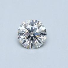 0,32 Carat Rond Diamond Idéale I SI2