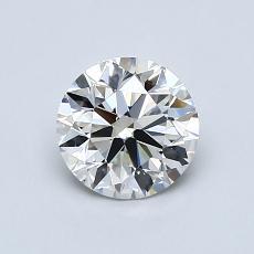 0.90 Carat 圓形 Diamond 理想 H VS2