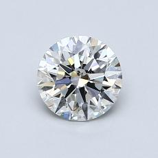 Recommended Stone #1: 0.71-Carat Round Cut