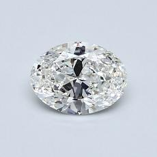 Recommended Stone #3: 0.62-Carat Oval Cut