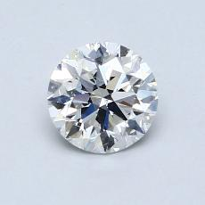 Recommended Stone #1: 0.81-Carat Round Cut Diamond