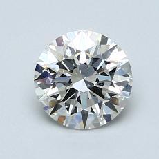 1.07 Carat 圓形 Diamond 理想 H VVS2