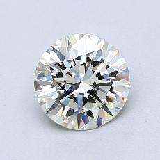 1.02 Carat 圓形 Diamond 理想 J VVS1
