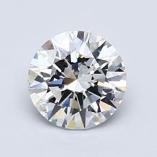 1,11 Carat Rond Diamond Idéale D VVS1