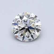 0.90-Carat Round Diamond Good I VS1