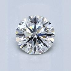 0.80 Carat Redondo Diamond Ideal I VVS2