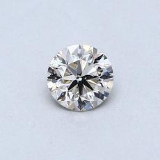 オススメの石No.1:0.33カラットラウンドカットダイヤモンド