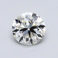 1.00-Carat Round Diamond Very Good I VS2