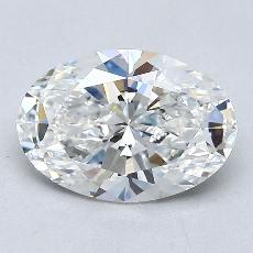 Recommended Stone #3: 1,58-Carat Oval Cut