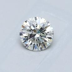 0.51-Carat Round Diamond Ideal G VS1