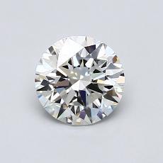 0.82 Carat 圆形 Diamond 理想 H IF