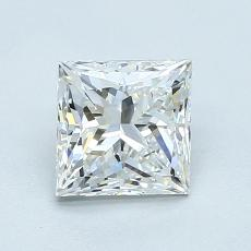 Recommended Stone #1: 1.05-Carat Princess Cut