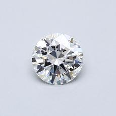 Recommended Stone #1: 0,41-Carat Round Cut