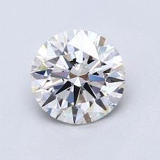 1.04 Carat 圆形 Diamond 理想 E IF
