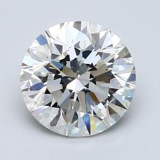 2.00 Carat 圆形 Diamond 理想 H VS2