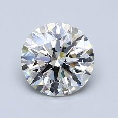 1.24-Carat Round Diamond Ideal H VS2