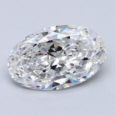 Recommended Stone #1: 1,33-Carat Oval Cut