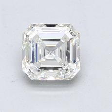 推薦鑽石 #3: 1.12 Carat Asscher Cut