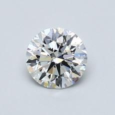 当前宝石:0.71 克拉圆形切割