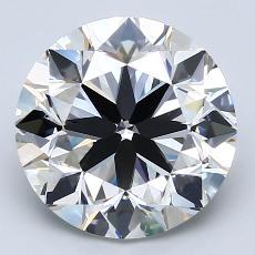 Pierre recommandée n°1: Diamant taille ronde 4,01 carat