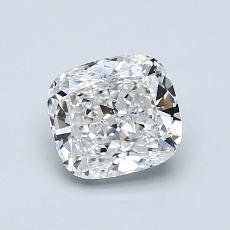 推薦鑽石 #2: 1.00 克拉墊形切割