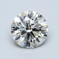 1.30-Carat Round Diamond Ideal K SI1