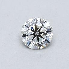 Recommended Stone #4: 0,40-Carat Round Cut Diamond