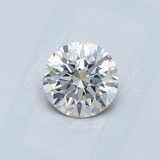0.51-Carat Round Diamond Ideal I SI1