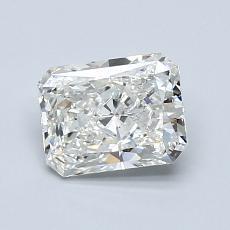 1,00 Carat Radiant Diamond Très bonne I SI2