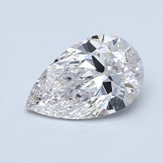 Recommended Stone #2: 0.81-Carat Pear Shaped