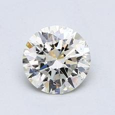 1.01-Carat Round Diamond Ideal J VS1