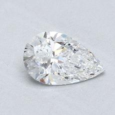 Recommended Stone #1: 0.73-Carat Pear Shaped