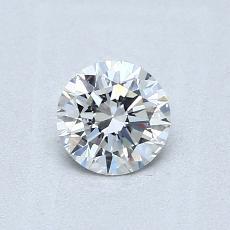当前宝石:0.52 克拉圆形切割