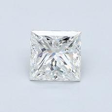 0.70 Carat 公主方形 Diamond 非常好 F VVS2