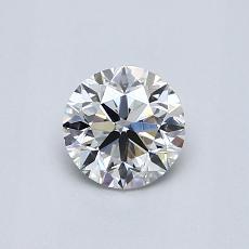 0.60-Carat Round Diamond Very Good H VS1