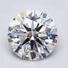 2.01 Carat Redondo Diamond Ideal E VS1