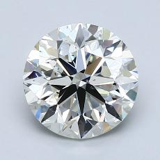 2.00-Carat Round Diamond Very Good I VS2