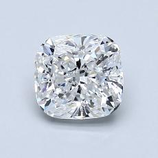1.06-Carat Cushion Diamond Very Good D VS2