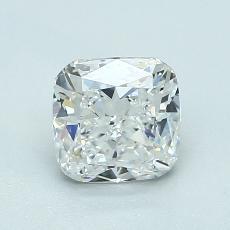 1.20-Carat Cushion Diamond Very Good F VS1