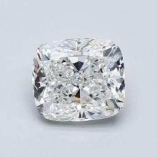 1.11-Carat Cushion Diamond Very Good E VVS2