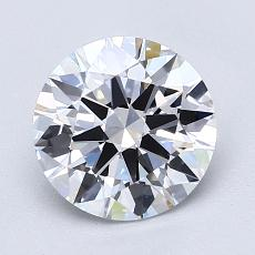 Recommended Stone #2: 1.70-Carat Round Cut