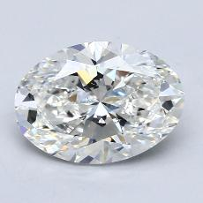 2,01-Carat Oval Diamond Very Good G VS2