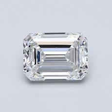 Current Stone: 0,90-Carat Emerald Cut