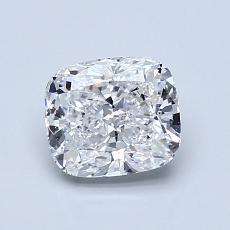 推荐宝石 4:1.08 克拉垫形切割