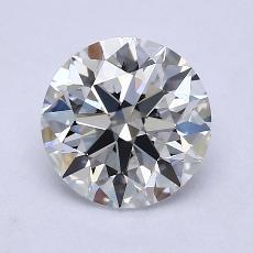 1.70 Carat 圆形 Diamond 理想 E VVS2
