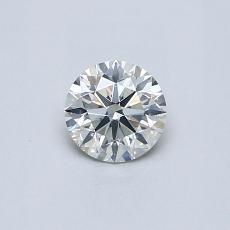 0.41 Carat 圆形 Diamond 理想 J SI2