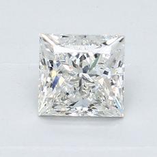 0.94-Carat Princess Diamond Very Good H VS2