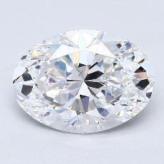 推薦鑽石 #2: 2.53  克拉橢圓形切割